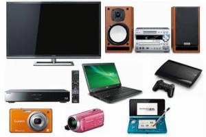 液晶テレビ・ブルーレイ/DVD・コンポ・デジカメ・デジタルオーディオプレーヤー・ゲーム機 etc...